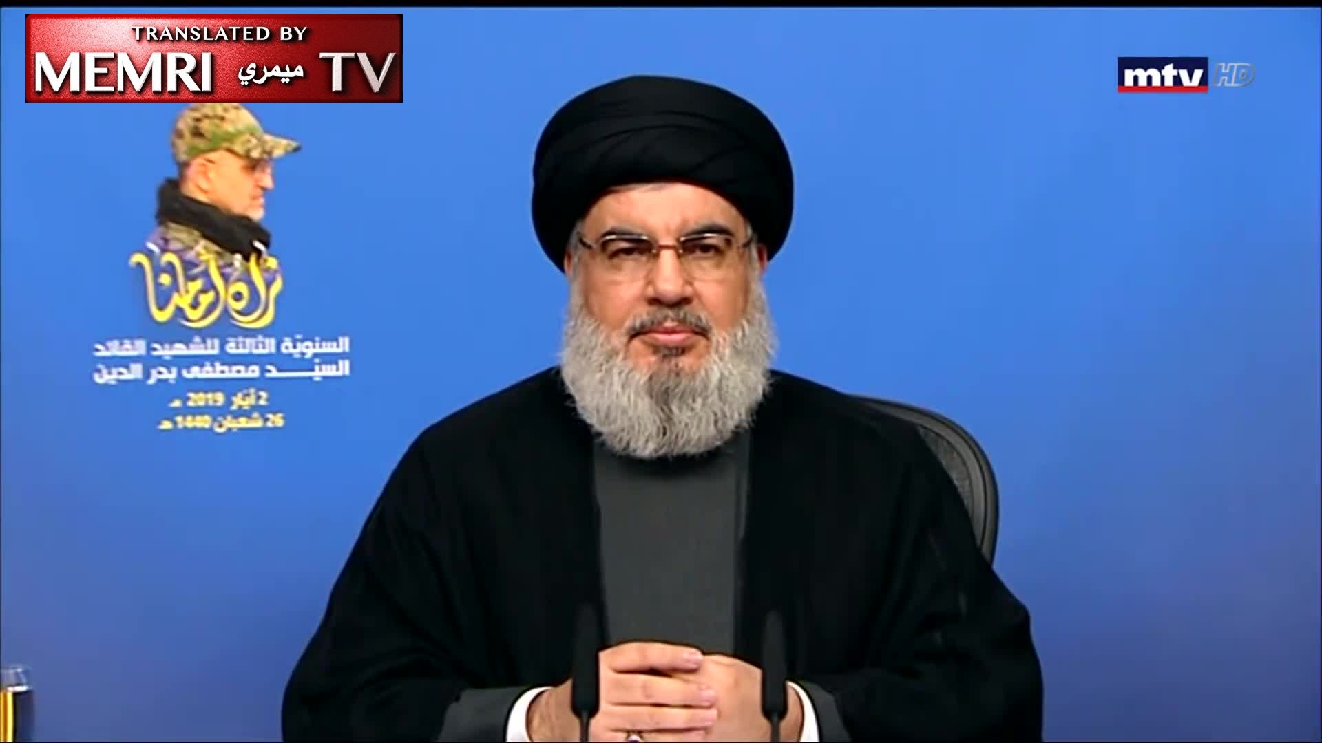 Hizbullah Secretary-General Hassan Nasrallah: We Can Invade the Galilee and Israel Knows It; Israel Will Be Crushed If It Even Thinks to Invade Southern Lebanon